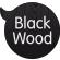 Lápiz hecho con madera negra de tilo.